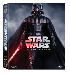 Razboiul Stelelor (StarWars) 6 Filme BLU-RAY / Star Wars The Complete Saga (Refreshed) (9 discuri) - BLU-RAY