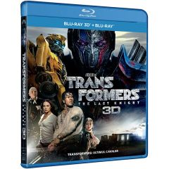 Transformers 5: Ultimul Cavaler / Transformers: The Last Knight - BD COMBO (3D+2D)