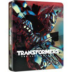Transformers 5: Ultimul Cavaler / Transformers: The Last Knight - BD Steelbook (3D+2D)