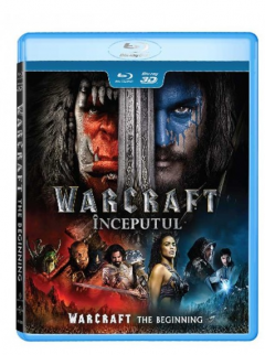Warcraft: Inceputul / Warcraft: The Beginning - BLU-RAY 3D + 2D