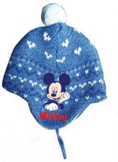 Caciula Mickey bebe-Albastru