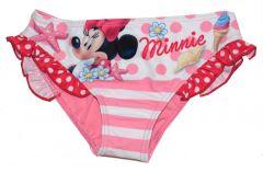 Slip de baie Minnie cu volane -Roz