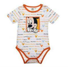 Body MS Mickey bebe-Portocaliu