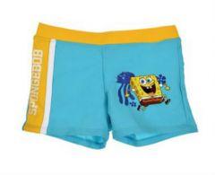 Boxer de baie Sponge BOB- Bleu