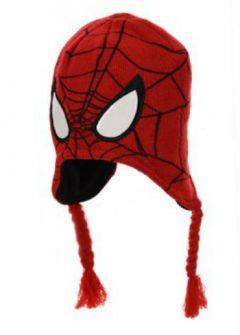Caciula Spiderman-Rosu