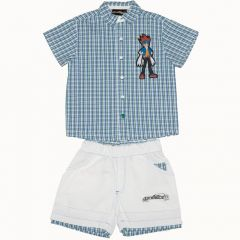 Camasa/pantalon scurt bermuda Beyblade