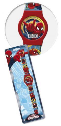 Ceas de mana Spiderman-Rosu