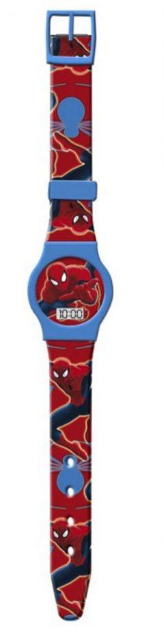 Ceas de mana Spiderman-Rosu/Bleu