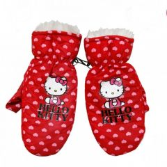 Manusi blana Hello Kitty