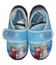Papuci Frozen  blue
