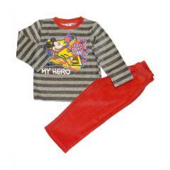 Pijama ML Mickey-Rosu