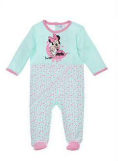 Pijama ML Minnie bebe-Turcoaz