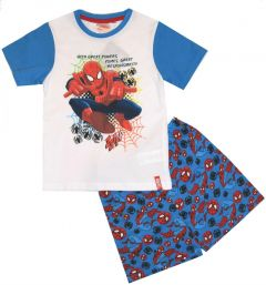 Pijama MS Spiderman-Albastru