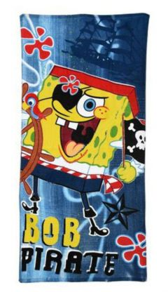 Prosop plaja Sponge Bob