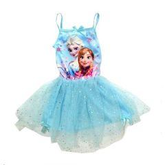 Rochie Frozen tutu-Bleu