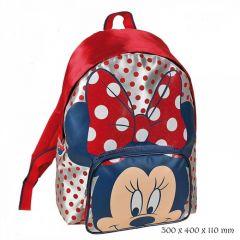 Rucsac Disney Minnie cu buline 40cm