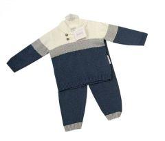 Set 2piese tricotat baieti