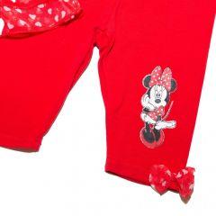 Set bluza+colant Minnie-Rosu