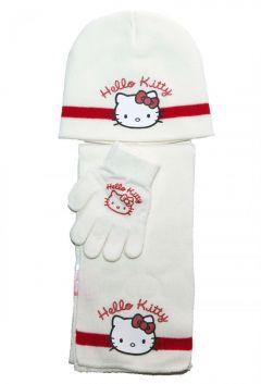 Set fes-fular-manusi Hello Kitty -Alb