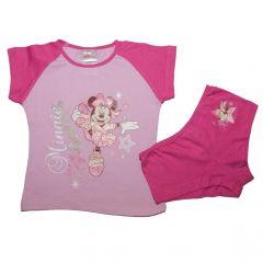 Set tricou-boxer Minnie -Fuchsia