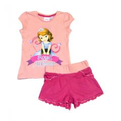 Set tricou-ps Sofia -Roz