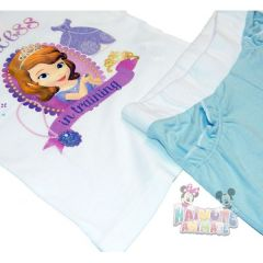 Set tricou-ps Sofia - Alb