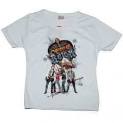 Tricou Camp Rock-Alb