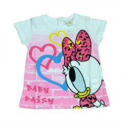 Tricou  MS bebe Daisy-Alb