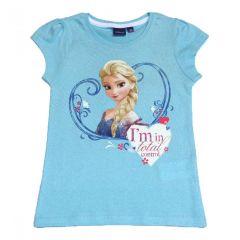 Tricou MS Frozen-Bleu