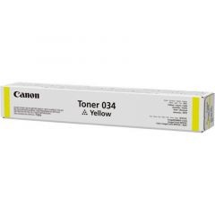 CANON 034Y YELLOW TONER CARTRIDGE