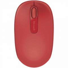 MOUSE MICROSOFT WIRELESS MOBILE 1850 RED