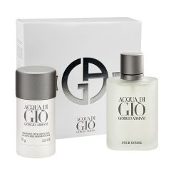 SET CADOU ACQUA DI GIO MEN