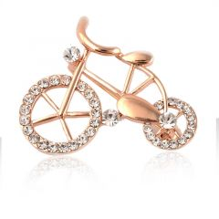 Brosa bicicleta aurie Velo
