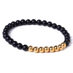 Men Agate Classic Bracelet