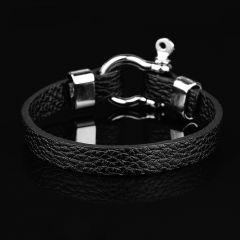 Silver Nautical Men Bracelet