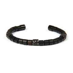 Brooks Zircon All Black Bangle
