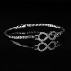 Silver Nautical Men Bangle