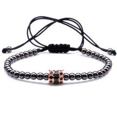 Brooks Bracelet Black Zirconium