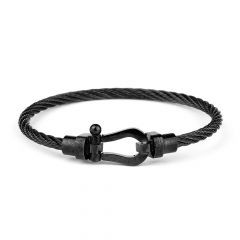 Brooks Anchor Black Bracelet 19 CM