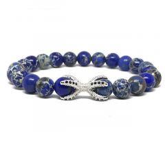 Brooks Blue Terra Design Agate