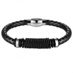Brooks Leather Black Chainz