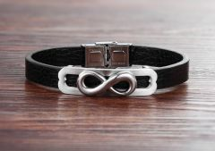 Brooks Leather Infinity Symbol
