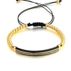 Brooks Gold Aristocrat Men Bracelet
