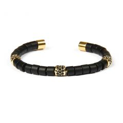 Brooks Luxury Bangle Gold Charms