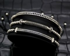 Brooks Luxury Set 3 Zircon Tube Bracelet