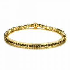 Brooks Gold Arque Bead Bracelet GOLD