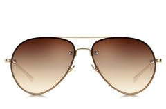 BROOKS MONTREAL AVIATOR BROWN WOMAN