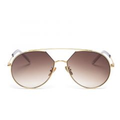 BROOKS LUXURY AVIATOR GOLD