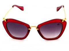 BROOKS RED CAT EYE DESIGN