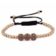 Brooks Rose Gold 14K Zirconia Bracelet